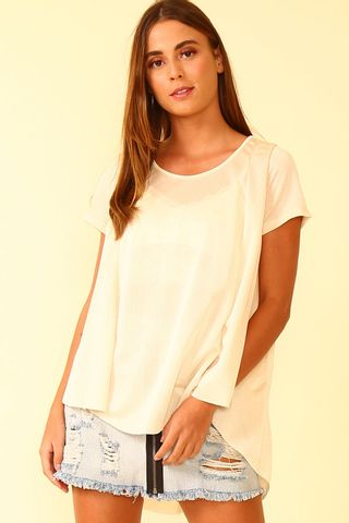 a21074b661 Blusa Mullet Sparkle - Off White